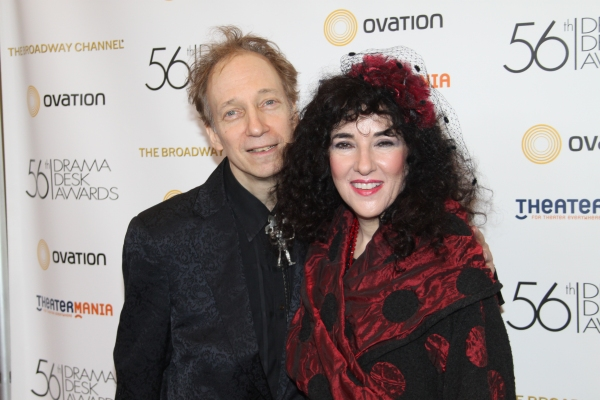 Scott Siegel and Barbara Siegel at 2011 Drama Desk Awards Arrivals - Part 1