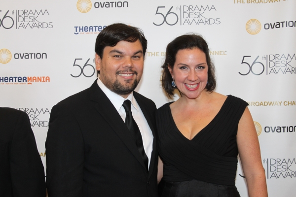 Robert Lopez and Kristin Anderson-Lopez Photo