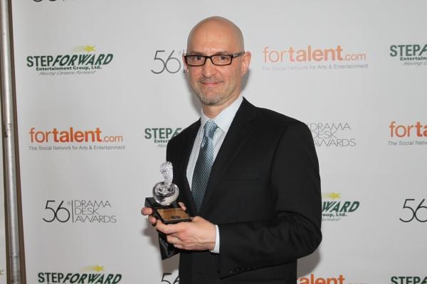 David Lander at 2011 Drama Desk Awards - The Press Room
