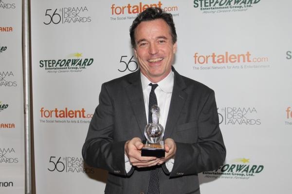 Derek McLane at 2011 Drama Desk Awards - The Press Room