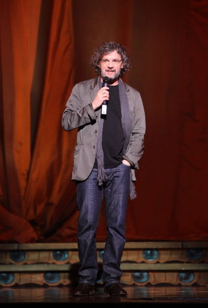 Writer and Director Francois Girard during the Cirque Du Soleil 'Zarkana' Rehearsal at Radio City in New York City.
