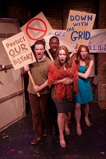Chris French, (back) John-Andrew Morrison, (front) Meghann Dreyfus and Patti Goettlicher
