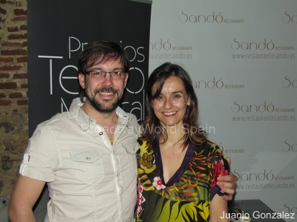 Nacho Bergareche y Lourdes Zamalloa