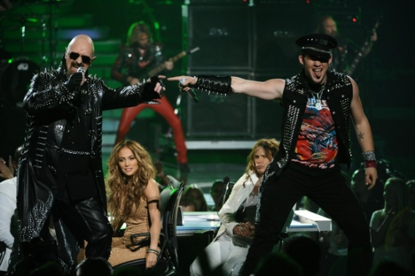 Judas Priest, James Durbin at AMERICAN IDOL Season Finale - Lady Gaga, Beyonce, & More!