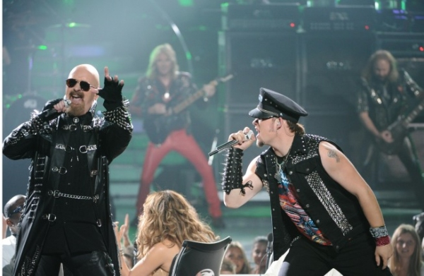 Judas Priest, James Durbin at AMERICAN IDOL Season Finale - Lady Gaga, Beyonce, & More!
