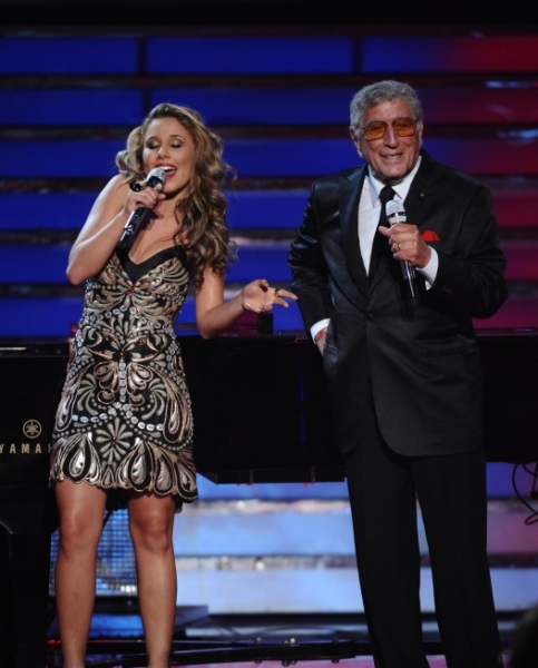 Hayley Reinhart, Tony Bennett at AMERICAN IDOL Season Finale - Lady Gaga, Beyonce, & More!