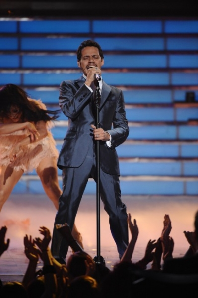 Marc Anthony at AMERICAN IDOL Season Finale - Lady Gaga, Beyonce, & More!