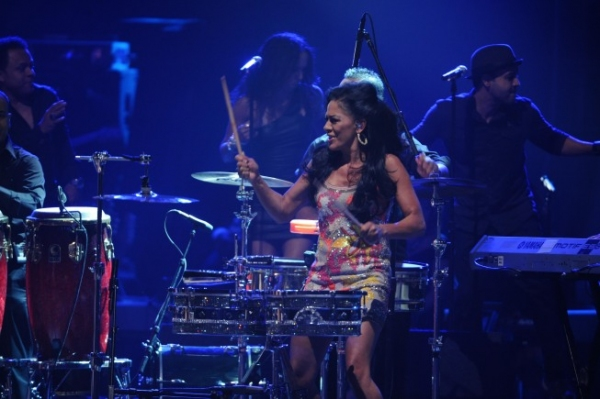 Sheila E at AMERICAN IDOL Season Finale - Lady Gaga, Beyonce, & More!