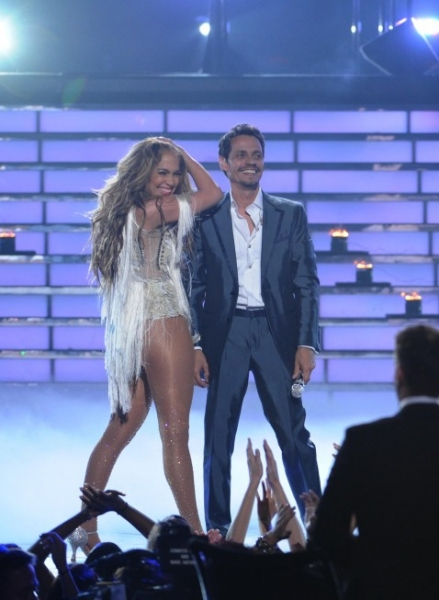 Jennifer Lopez, Marc Anthony at AMERICAN IDOL Season Finale - Lady Gaga, Beyonce, & More!