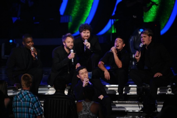 Scotty McCreery and the Top 12 Boys