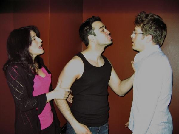 Elena Zazanis, Amadeo Fusco and Lars D. Drew  Photo