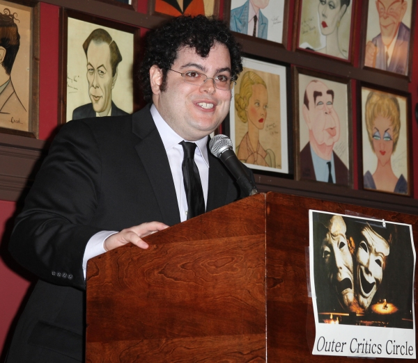 Photo Coverage: MORMON, Foster, Rylance & More Win Big at Outer Critics Circle Awards!
