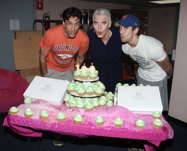 Photo Coverage: PRISCILLA QUEEN OF THE DESERT Celebrates 100th Performance!