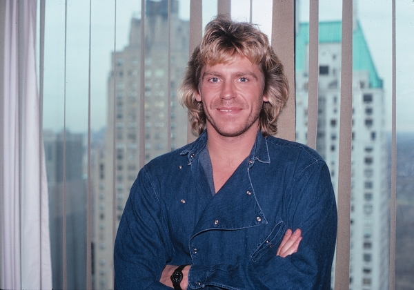 Jeff Conaway in New York City. 1983