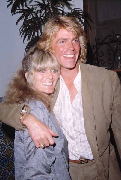 Jeff Conaway & Rona Newton John in Los Angeles. 1982 at Remembering Jeff Conaway
