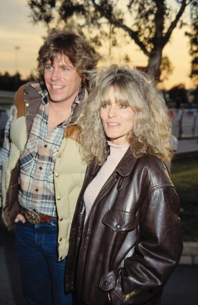 Jeff Conaway & Rona Newton John in Los Angeles. 1982