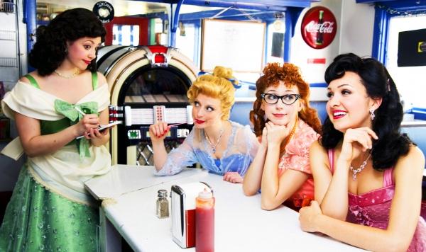 Brittney Morello, Danielle Erin Rhodes, Morgan Smith and Lara Seibert  Photo