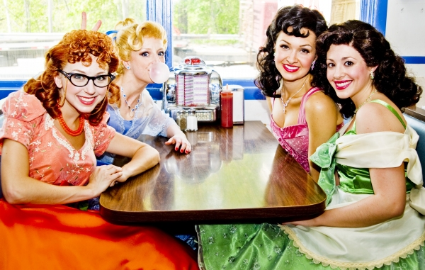 Morgan Smith, Danielle Erin Rhodes, Lara Seibert and Brittney Morello Photo