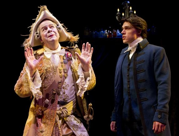 Peter Bartlett, Finn Wittrock at Production Shots from Kushner's THE ILLUSION!