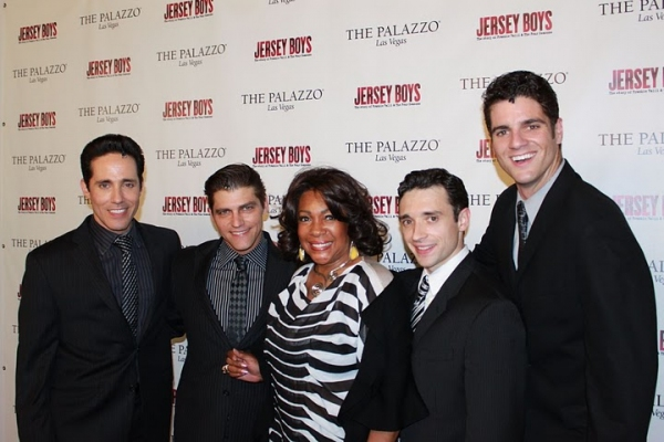 Photo Flash: Mary Wilson Visits JERSEY BOYS Vegas
