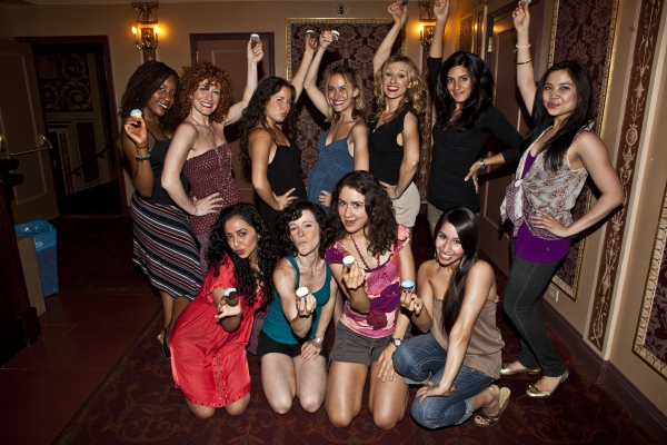 (Back Row) Meredith Akins, Allyson Carr, Rachel Frankenthal, Felicity Claire, Adrienn Photo