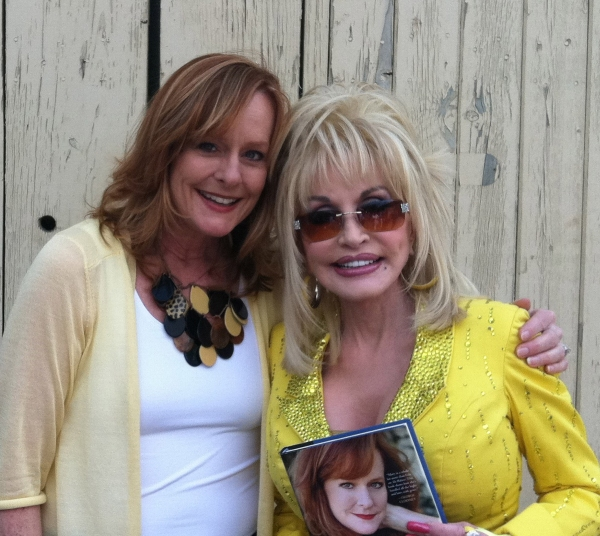 Photo Flash: Mary McDonough on the road with Dolly Parton, Loretta Lynn