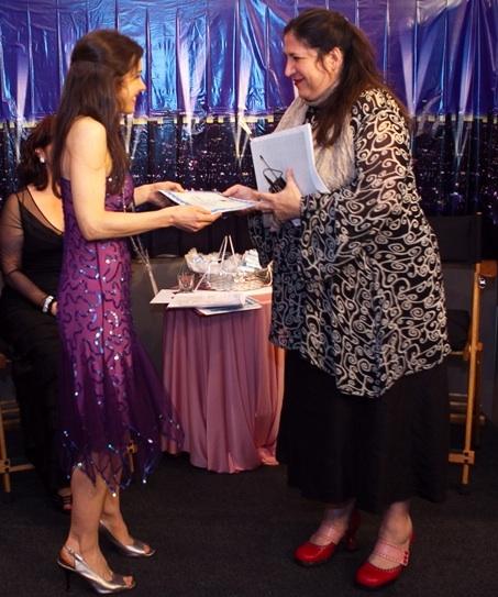Juliette Bennett, actor; Sarah Kliban, casting director