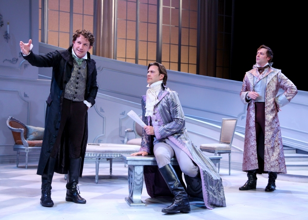 John Patrick Hayden as Alceste, the misanthrope and Marcus Dean Fuller as Orante, and Jon Barker