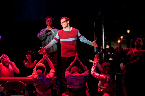 Drew Gasparini at Justin Guarini and Drew Gasparini Lead Surflight's RENT!