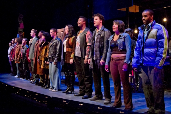 Photo Flash: Justin Guarini and Drew Gasparini Lead Surflight's RENT!