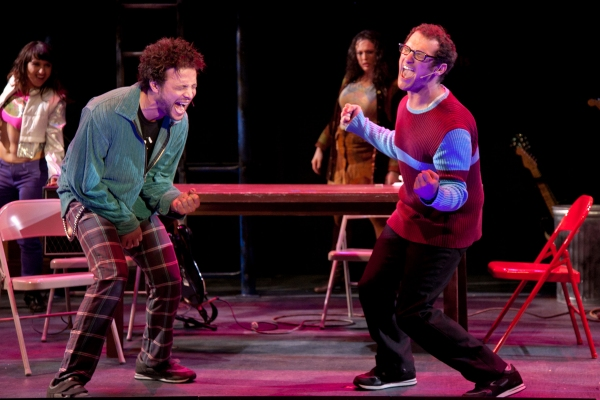 Justin Guarini, Drew Gasparini at Justin Guarini and Drew Gasparini Lead Surflight's RENT!