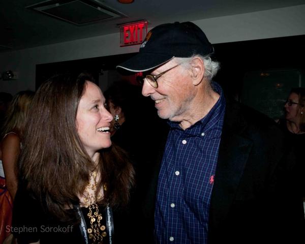 Caroline Sorokoff & Bruce Dern Photo