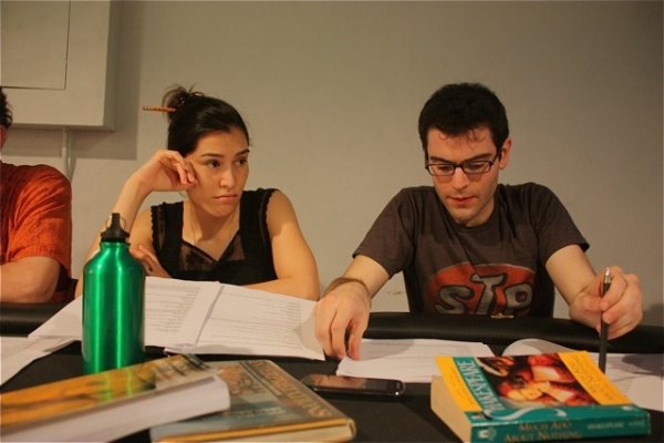 Maria Peyramaure and Sid Solomon