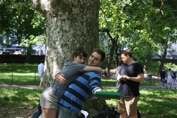 Laura Ramadei, Nate Miller and Tim Errickson Photo