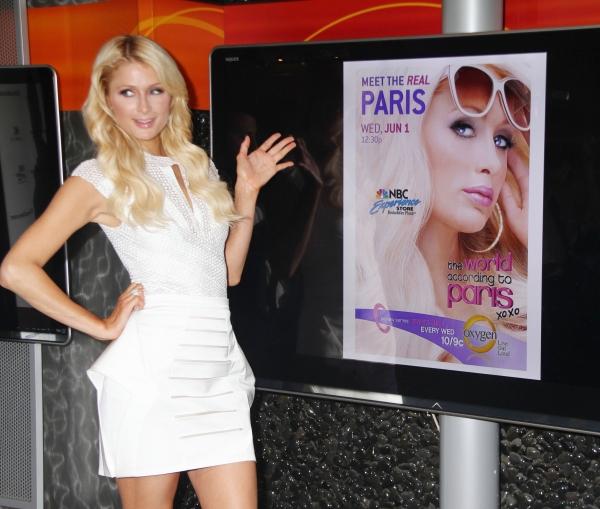 Paris Hilton at Paris Hilton Promotes New Show in NYC
