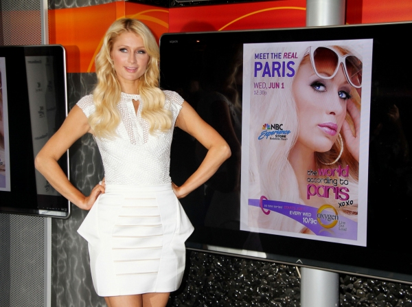 Paris Hilton at Paris Hilton Promotes New Show in NYC