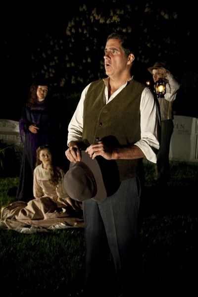 Photo Flash: SPOON RIVER PROJECT in Green-Wood Cemetery