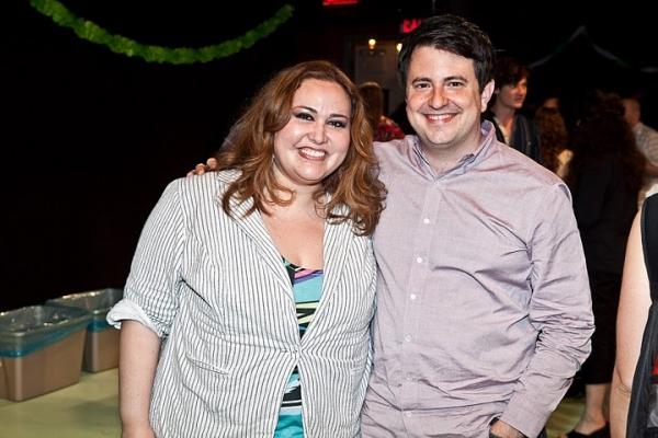 Tanya Saracho and director Jerry Ruiz  Photo