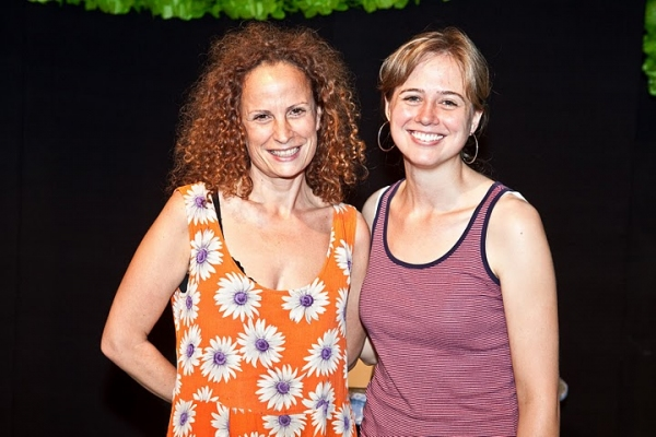 Clubbed Thumb's Producing Artistic Director Maria Striar and Associate Director Diana Konopka