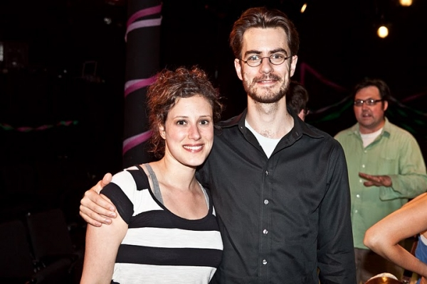 Melissa Miller and director Seth Bockley Photo