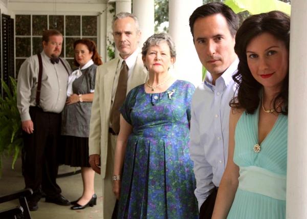 Megan Blakeley (Maggie), Gordon Carmadelle (Gordon), Kenlyn Kanouse (Big Mama), Oh Rhyne (Big Daddy), Ariella Fiore (Mae) and Jeffrey Olin