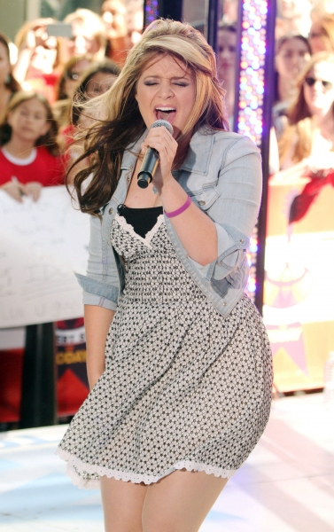 Lauren Alaina at AMERICAN IDOL's Scotty McCreery and Lauren Alaina Visit Today Show
