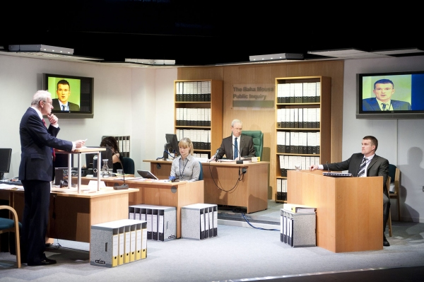 Photos: Tricycle Theatre's TACTICAL QUESTIONING
