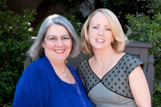 Darlene Shiley and Sheryl White