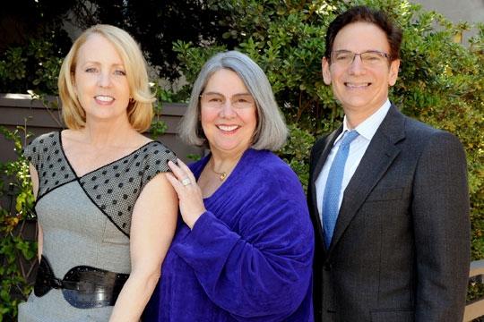 Darlene Shiley, Sheryl White and Executive Producer Lou Spisto  Photo