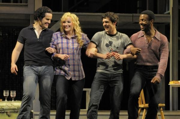 Patrick Lane, Betsy Wolfe, Wesley Taylor, Josh Breckenridge. Photo Credit: Kevin Berne