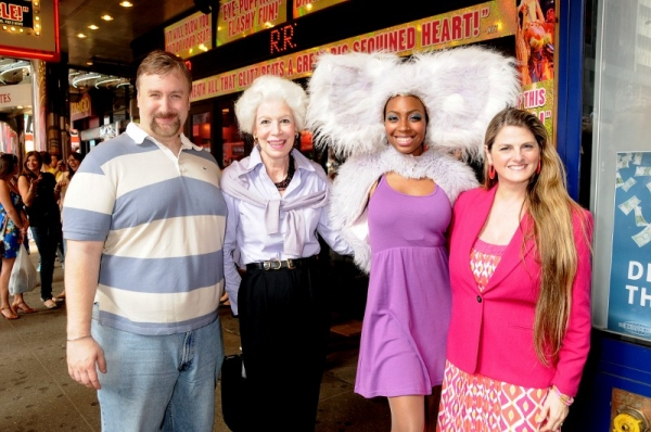 Photo Flash: Drama League Holds Monthly Coffee Club at Palace Theater
