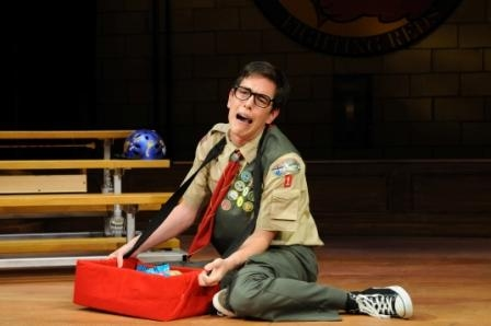 Nathan Chang, a participant in Ocean State Theatre Company's 2011 Internship Program, portrays the role of Chip Tolentino