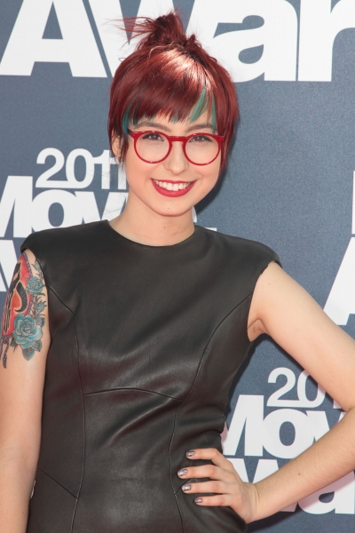 Liz Lee pictured at the 2011 MTV Movie Awards Arrivals at Universal Studios' Gibson A Photo