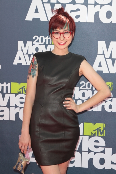 Liz Lee pictured at the 2011 MTV Movie Awards Arrivals at Universal Studios' Gibson Amphitheatre on June 5, 2011 in Universal City, California. © RD / Orchon / Retna Digital
